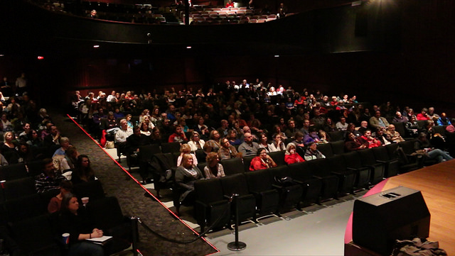 Audience at Human Trafficking Awareness
